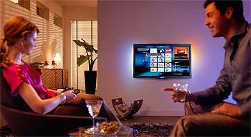 Televisores con navegación de páginas web