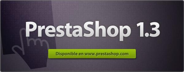 Nueva versión de Prestashop 1.3 final