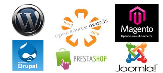 Prestashop y WordPress finalistas 2010 mejores aplicaciones