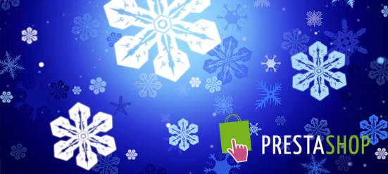 Módulo Prestashop nieve en nuestra tienda online