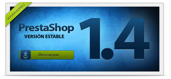 Prestashop 1.4 disponible en versión estable