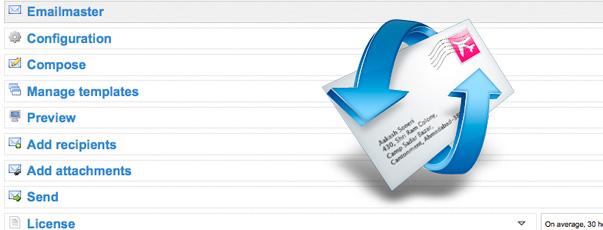 Módulo Prestashop 1.4 emailmaster, envío de correos