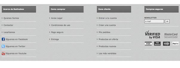 Módulo Prestashop 1.4 , personalizar pie página