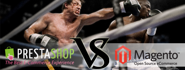 Comparativa: Magento vs Prestashop