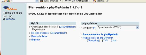 Módulo Prestashop reparador base de datos