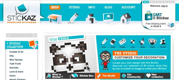 Tienda online Stickaz