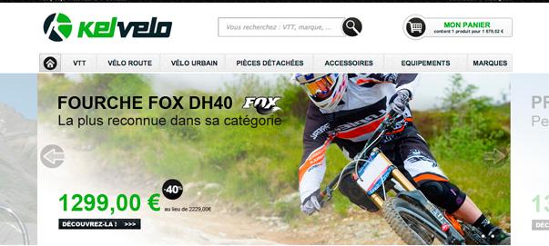 Tienda online de la semana Kelvelo