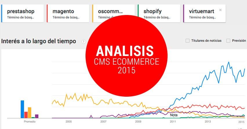 Análisis Tiendas online 2016: Prestashop, Oscommerce, Magento.