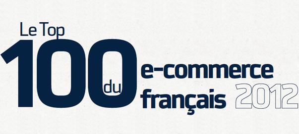 Los 100 mejores sitios de comercio electrónico en Francia