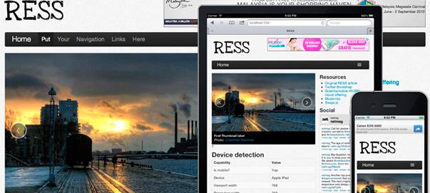 RESS, más allá del responsive web