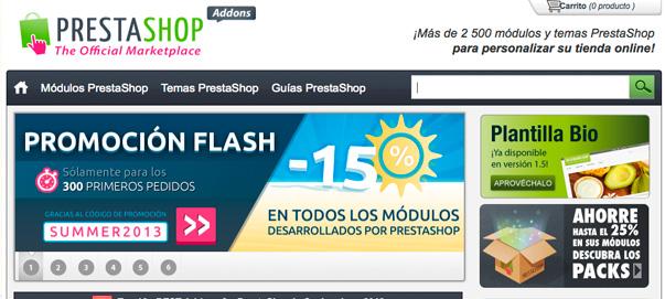 Prestashop, la evolución del mercado de módulos