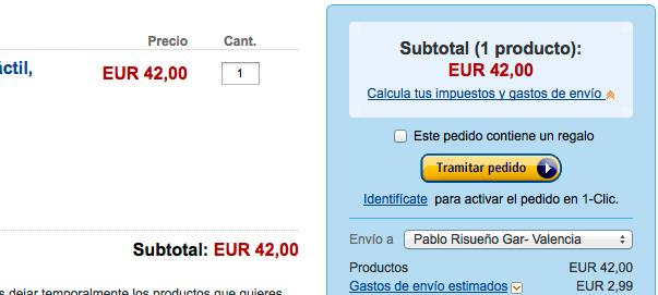 Módulo Prestashop para cálculo previo de gastos de envío.
