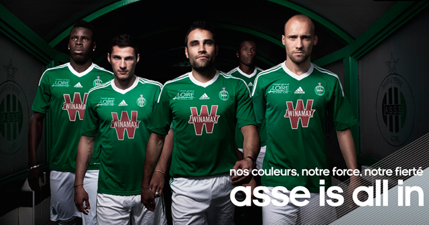 Tienda de la semana: Equipo de Fútbol Saint Etienne