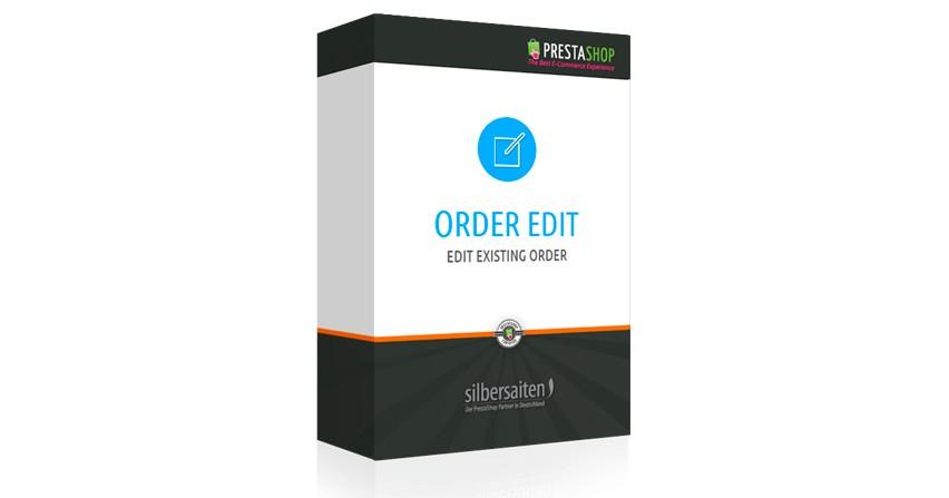 Modulo Recomendado Editor de pedidos Prestashop 1.6