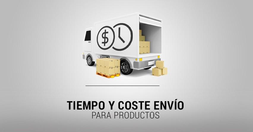Módulo Prestashop 1.6, tiempo y coste de envío por productos
