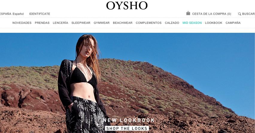 Tienda de la semana: Oysho
