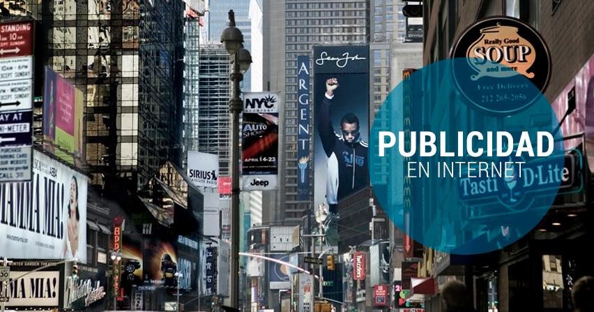Tipos y estrategias de publicidad en internet