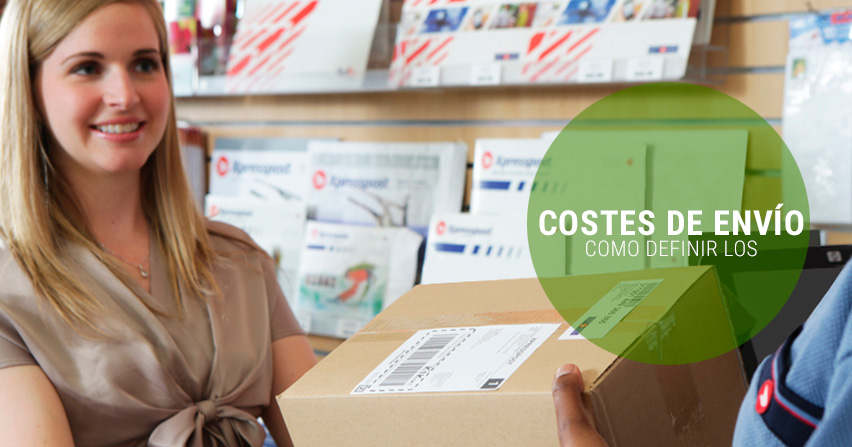 Cómo definir los costes de envío en un e-commerce