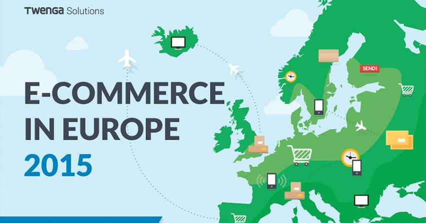 Infografia, e-commerce en Europa 2015