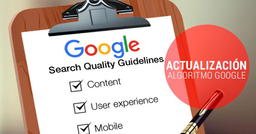 Nuevo cambios en el algoritmo de búsqueda de Google, 2016