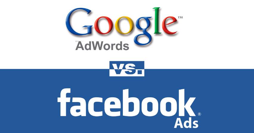Comparativa de Publicidad en Google VS Facebook