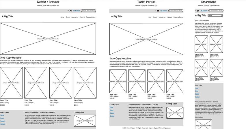 Mockups para mejorar el trabajo de diseño web