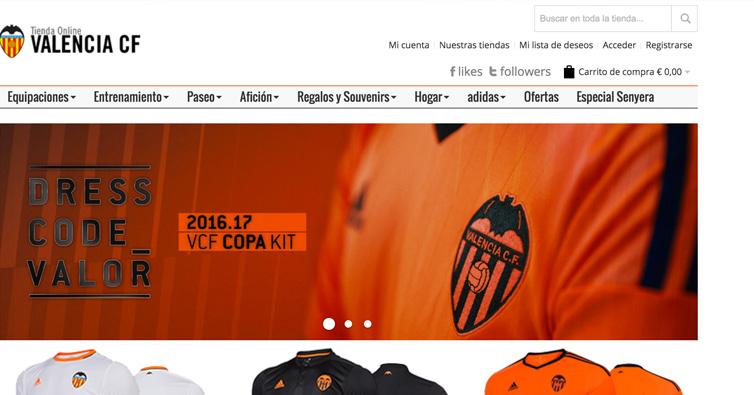 Tienda de la semana: Valencia CF