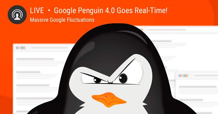 Recuperar las posiciones después de Penguin 4.0