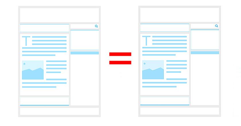 Evita el contenido duplicado de tu tienda online