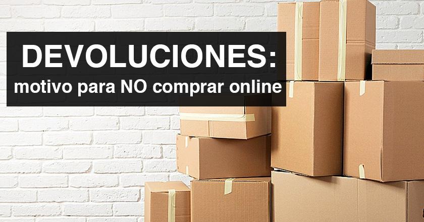 Las devoluciones: el principal motivo para no comprar online