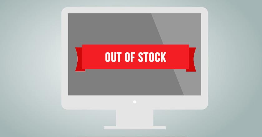 Cómo gestionar los productos sin stock en las tiendas online