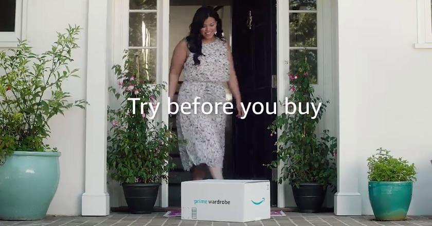 Amazon la vuelve a liar: te puedes probar la ropa antes de comprarla