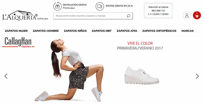 Zapatos L'Alqueria, una tienda de calzado de primera