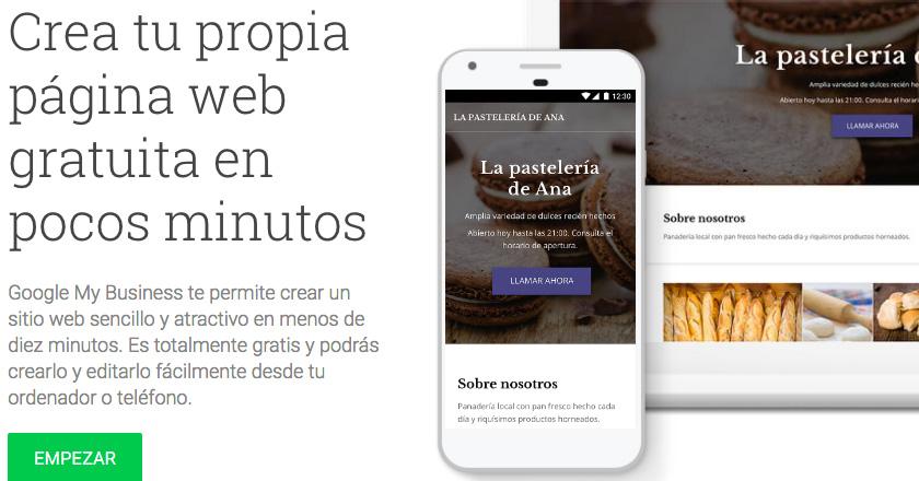 Google ya ofrece sistemas de diseño web gratis