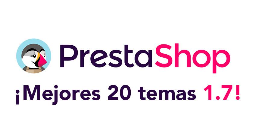 Los mejores 20 temas de Prestashop 1.7