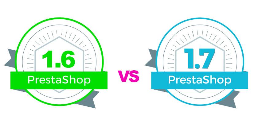 Comparativa entre las versiones 1.6 y 1.7 de Prestashop