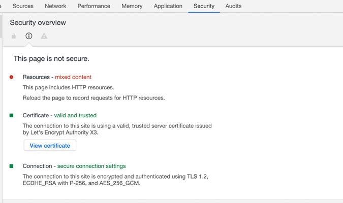 SSL en Chrome