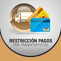 Modulo Prestashop Restricción pagos en función de transportista