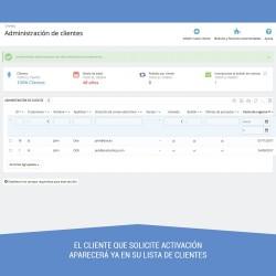 Validate Customers b2b shop